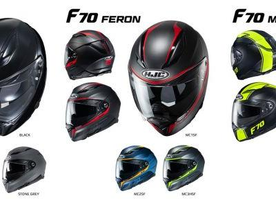 HJC F70 Helmet First Look Preview