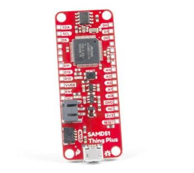 SparkFun Thing Plus development board based on Adafruit Feather format