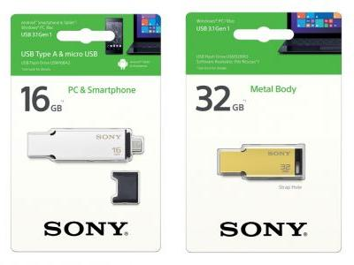 Fast speed 3.1 Gen 1 flash drives by Sony launched in India starting at Rs 850