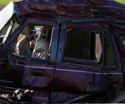 SUV in Southern California crash came through hole in border fence