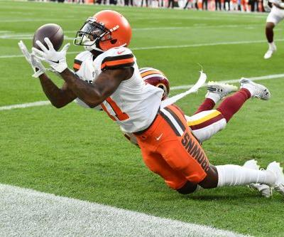 Browns waive Antonio Callaway as WR faces 10-game suspension, per reports
