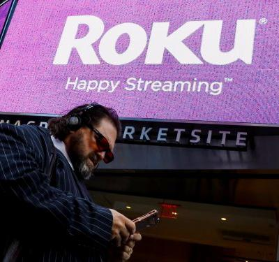 Roku is rocketing higher on its 2nd day of trading