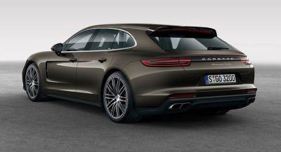 New 'Shooting Brake' Porsche Panamera Sport Turismo To Reach European Dealers This Year