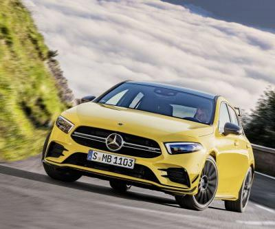 The Mercedes-AMG A35 4MATIC Is Official And It Packs 301 HP