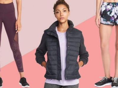 The Best Fitness Gear to Buy in Old Navy's Black Friday Sale