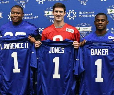 Giants sign Dexter Lawrence, Deandre Baker, await top pick Daniel Jones