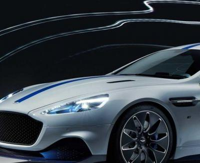 Rapide E is the new all-electric car from Aston Martin