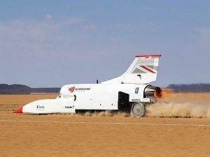 Bloodhound LSR Concludes Its Test Program With A Top Speed Of 628mph 1010kmph