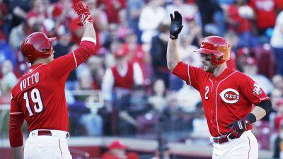 MLB All-Star Game 2017: Reds' Zack Cozart earns bonus - donkey from Joey Votto