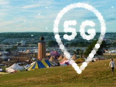 EE brings 5G to Glastonbury 2019