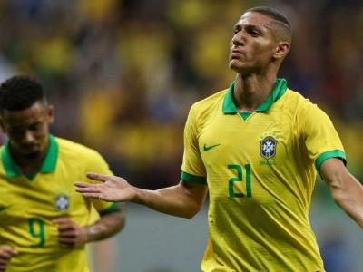 Richarlison, Gabriel Jesus score in Brazil win vs. Qatar