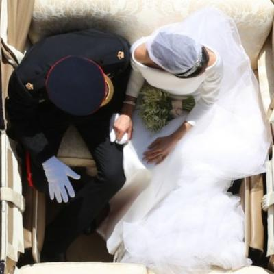 Meghan Markle & Prince Harry's Overhead Wedding Photo Has A Beautiful Story Behind It