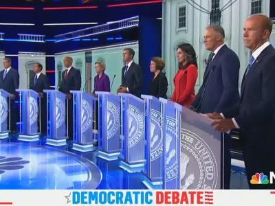 NBC's Thursday Night Debate Sets Ratings Record for Democratic Primary Contests