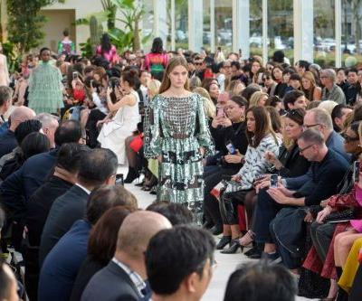 Valentino's Spring 2019 Collection Is a Garden in the Middle of a Desert