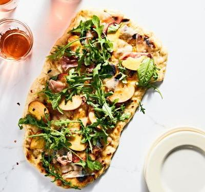 The Best Grilled Pizza, Inspired by Rhode Island's Grilled-Pizza Mecca