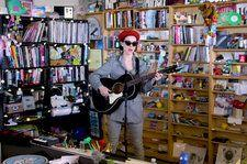 Watch St. Vincent Perform Stripped Down, Folky Mini-Set for NPR's 'Tiny Desk Concert'