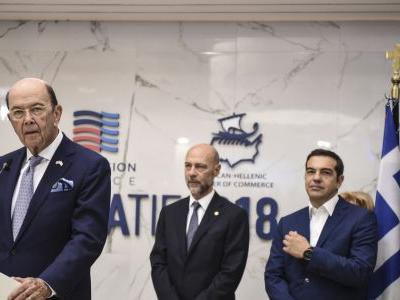 US commerce secretary welcomed in recession-weary Greece