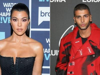 Kourtney Kardashian's Ex Younes Bendjima Was at Her 40th Birthday Party and We Have Questions