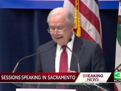 AG Sessions says sanctuary state laws endanger law enforcement