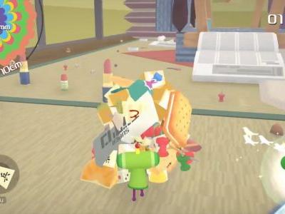 Katamari Damacy Reroll is a remaster bound for Switch and PC