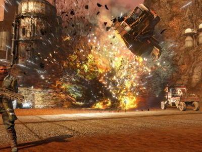 Red Faction Guerrilla Re-Mars-tered smashing out soon