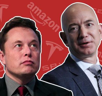 A history of the rivalry between Elon Musk and Jeff Bezos, 2 of the world's most powerful CEOs who have been feuding for over 15 years