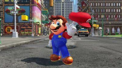 Super Mario Odyssey announced for Nintendo Switch, but not for launch
