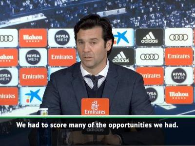 Madrid just can't seem to score - Solari