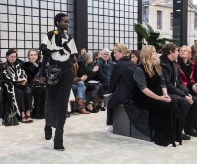 Valentino Takes Us on a Serene Stroll Through a Flower Garden for Fall 2018