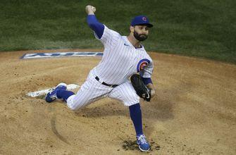 Chatwood fans 11, Cubs hit 3 homers to beat Pirates 4-3