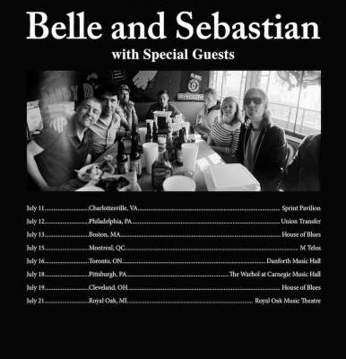 Belle and Sebastian announce 2019 North American tour
