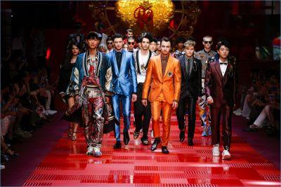 King of Hearts: Dolce & Gabbana Unveils Spring '18 Collection