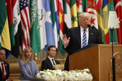 Here's the full transcript of Trump's speech to Middle East leaders in Riyadh, Saudi Arabia