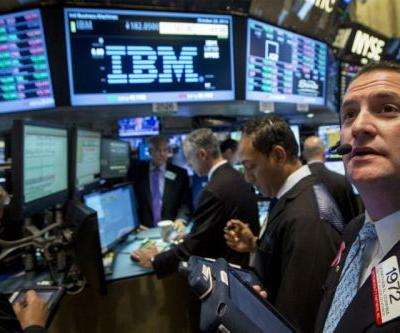 IBM slides despite reporting its first profit growth in almost 6 years