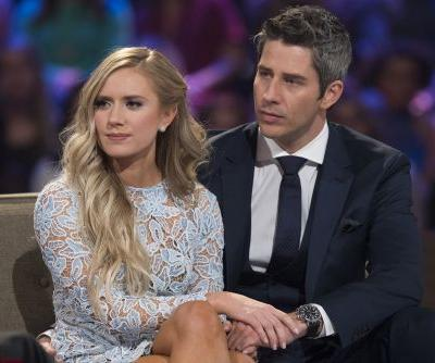 Video emerges of 'Bachelor' Arie's fiancée getting engaged to ex