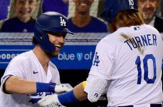 Justin Turner hits two home runs, Dodgers beat Angels, 9-5
