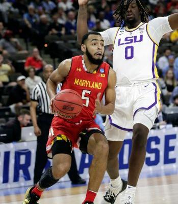 Waters' drive beats Maryland 69-67, sends LSU to Sweet 16