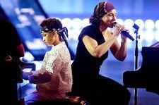 Alicia Keys Brings Up Son To Help Perform 'Raise a Man' at iHeartRadio Music Awards