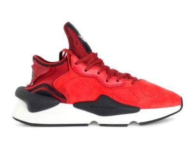 Y-3 Drops the Kaiwa Runner in a Bold Red Color Scheme