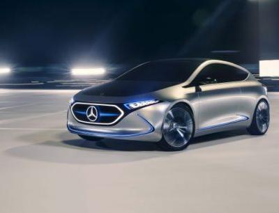 Mercedes-Benz Concept EQA Points to New Compact EV