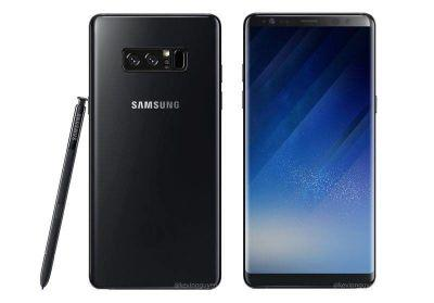 New Renders Show Off Galaxy Note 8 And Its S Pen Stylus