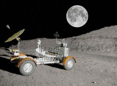Polaris builds Lunar Rover Vehicle replica with Indian, Slingshot and RZR parts