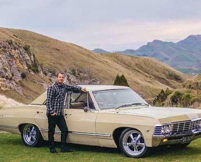After 20 owners, Bertha the custard-coloured 1967 Chevrolet Impala finds her forever home