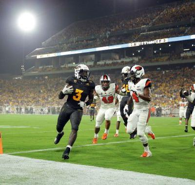 STAT WATCH: Sun Devils' Benjamin 1st to break 300-yard mark