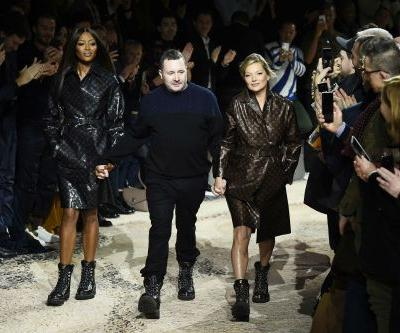 Kate Moss, Naomi Campbell make surprise runway appearance