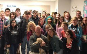 High School Students Gift Their Mourning Teacher A Pawesome Surprise