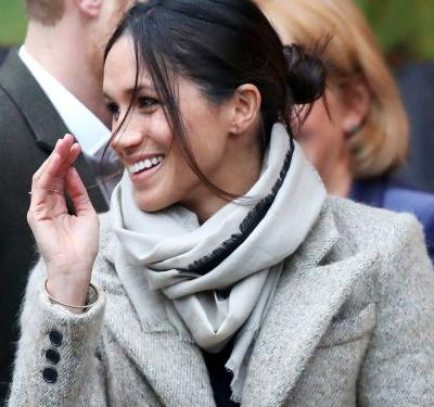 The Internet Can't Get Over Meghan Markle's Messy Bun - & We Totally Get It