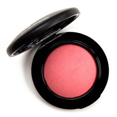MAC Hey, Coral, Hey Mineralize Blush Review, Photos, Swatches