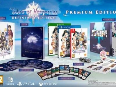 North American physical copies of Tales of Vesperia: Definitive Edition require a download, while EU/Japanese copies don't