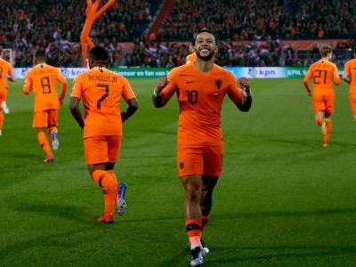 Memphis strikes twice as Netherlands cruise past Belarus